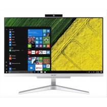 """Acer Aspire C22-865 54,6 cm (21.5"""") 1920 x 1080 Pixel Intel® Core™ i3 di ottava generazione i3-8130U 4 GB DDR4-SDRAM 256 GB SSD Argento PC All-in-one"""