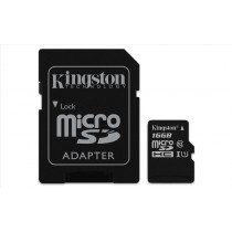 Kingston Technology Canvas Select 16GB MicroSDHC UHS-I Classe 10 memoria flash