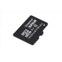 Kingston Technology Industrial Temperature microSD UHS-I 32GB memoria flash MicroSDHC Classe 10