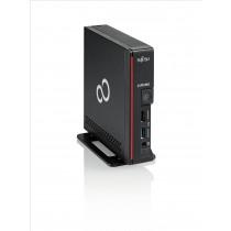 Fujitsu ESPRIMO G558 Intel® Core™ i3 di ottava generazione i3-8100 8 GB DDR4-SDRAM 256 GB SSD Nero, Rosso USFF Mini PC