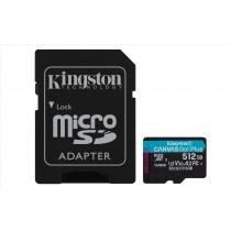 Kingston Technology Canvas Go! Plus memoria flash 512 GB MicroSD Classe 10 UHS-I