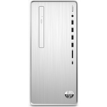 HP Pavilion TP01-0020nl Intel® Core™ i3 di nona generazione i3-9100F 8 GB DDR4-SDRAM 256 GB SSD Mini Tower Argento PC Windows 10 Home