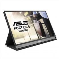 "ASUS MB16AP monitor piatto per PC 39,6 cm (15.6"") Full HD Lucida Grigio"