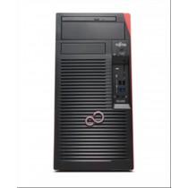 Fujitsu CELSIUS W580 3.4GHz E-2124G Microtorre Intel® Xeon® Nero Stazione di lavoro