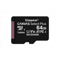 Kingston Technology Canvas Select Plus memoria flash 64 GB MicroSDXC Classe 10 UHS-I