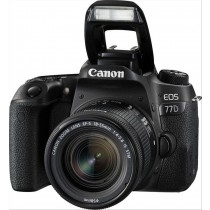 Canon EOS 77D + 18-55mm F4.0-5.6 IS STM Kit fotocamere SLR 24,2 MP CMOS 6000 x 4000 Pixel Nero