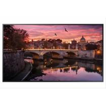 "Samsung QB43R 108 cm (42.5"") LED 4K Ultra HD Pannello piatto per segnaletica digitale Nero"