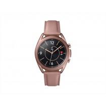 Samsung Galaxy Watch3 Smartwatch Bluetooth, cassa 41mm acciaio, cinturino pelle, Saturimetro, Rilevamento cadute, Monitoraggio sport, 48,2g, Batteria 247 mAh, IP68, Mystic Bronze