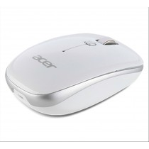 Acer NP.MCE1A.007 RF Wireless Ottico 1000DPI Argento, Bianco Ambidestro mouse