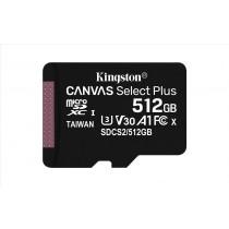 Kingston Technology Canvas Select Plus memoria flash 512 GB SDXC Classe 10 UHS-I