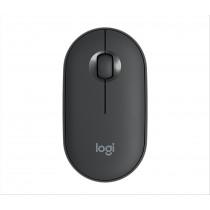 Logitech Pebble M350 mouse Wireless a RF + Bluetooth Ottico 1000 DPI Ambidestro