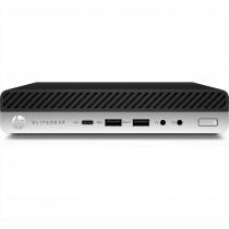 HP EliteDesk 800 G3 Intel® Core™ i5 di settima generazione i5-7500T 8 GB DDR4-SDRAM 256 GB SSD Nero, Argento Scrivania Mini PC