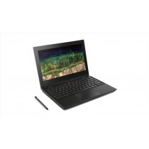 "Lenovo 500e Nero Chromebook 29,5 cm (11.6"") 1366 x 768 Pixel Touch screen 1,10 GHz Intel® Celeron® N3450"