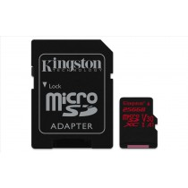 Kingston Technology Canvas React memoria flash 256 GB MicroSDXC Classe 10 UHS-I