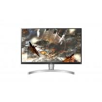 """LG 27UL650-W LED display 68,6 cm (27"""") 4K Ultra HD Opaco Argento"""