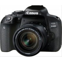 Canon EOS 800D + EF-S 18-55mm 4.0-5.6 IS STM Kit fotocamere SLR 24,2 MP CMOS 6000 x 4000 Pixel Nero