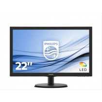 Philips V Line Monitor LCD con SmartControl Lite 243V5QHABA/00