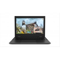 "Lenovo 100e 2nd Gen Nero Computer portatile 29,5 cm (11.6"") 1366 x 768 Pixel Intel® Celeron® N4000 4 GB LPDDR4-SDRAM 64 GB eMMC"