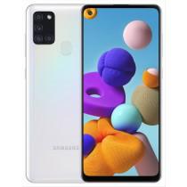 """Samsung Galaxy A21s SM-A217F 16,5 cm (6.5"""") 3 GB 32 GB Doppia SIM 4G Bianco Android 10.0 5000 mAh"""