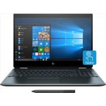 """HP Spectre x360 15-df0003nl Blu Ibrido (2 in 1) 39,6 cm (15.6"""") 3840 x 2160 Pixel Touch screen Intel® Core™ i7 di ottava generazione i7-8565U 16 GB DDR4-SDRAM 1000 GB SSD"""