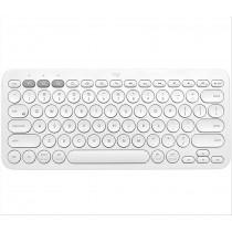 Logitech K380 tastiera Bluetooth QWERTY US International Bianco
