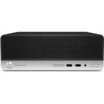 HP ProDesk 400 G6 Intel® Core™ i3 di nona generazione i3-9100 4 GB DDR4-SDRAM 1000 GB HDD SFF Nero, Argento PC Windows 10 Pro