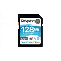 Kingston Technology Canvas Go! Plus memoria flash 128 GB SD Classe 10 UHS-I