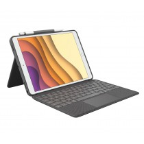 Logitech Combo Touch QWERTY Italiano Grafite Smart Connector