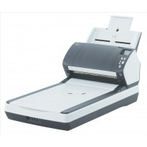 Fujitsu fi-7260 600 x 600 DPI Scanner piano e ADF Nero, Bianco A4