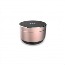 Celly SPEAKERALURG Stereo 3W Cilindro Rosa altoparlante portatile