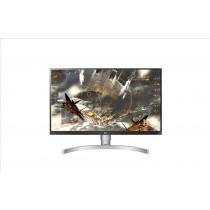"""LG 27UK650-W 27"""" 4K Ultra HD LED Piatto Nero, Argento, Bianco monitor piatto per PC LED display"""