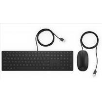HP Pavilion 400 tastiera USB Nero