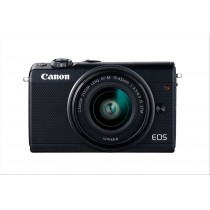 Canon EOS M100 Kit fotocamere SLR 24.2MP CMOS 6000 x 4000Pixel Nero