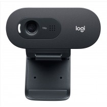 Logitech C505e webcam 1280 x 720 Pixel USB Nero
