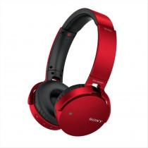 Sony MDRXB650BT Padiglione auricolare Stereofonico Senza fili Rosso auricolare per telefono cellulare