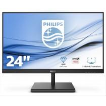 "Philips E Line 245E1S/00 LED display 60,5 cm (23.8"") 2K Ultra HD LCD Nero"