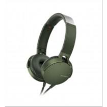 Sony XB550AP Padiglione auricolare Stereofonico Cablato Verde auricolare per telefono cellulare
