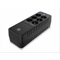 Conceptronic ZEUS05E gruppo di continuità (UPS) Standby (Offline) 650 VA 360 W 6 presa(e) AC