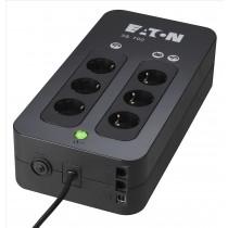 Eaton 3S 700 DIN 700VA 6AC outlet(s) Mini Tower Nero gruppo di continuità (UPS)