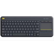 Logitech K400 Plus tastiera RF Wireless QWERTZ Tedesco Nero