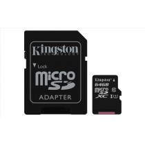 Kingston Technology Canvas Select 64GB MicroSDXC UHS-I Classe 10 memoria flash